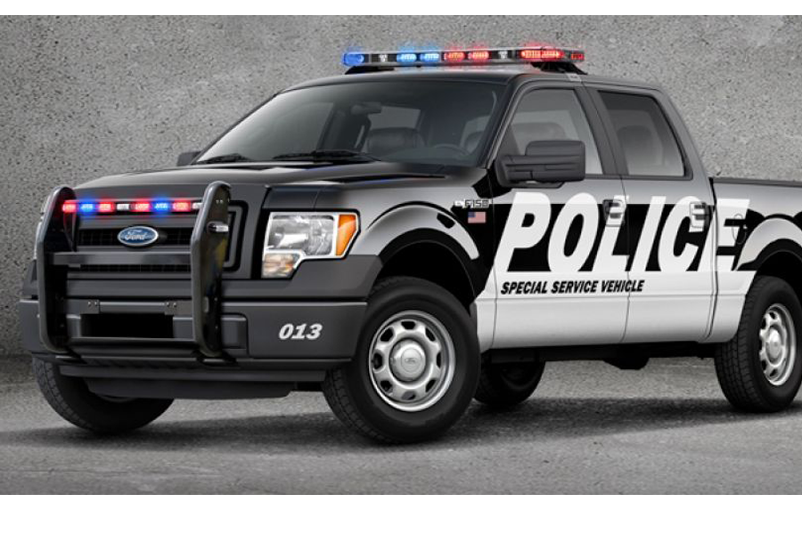 Ford F-150 Special Service Police Vehicle